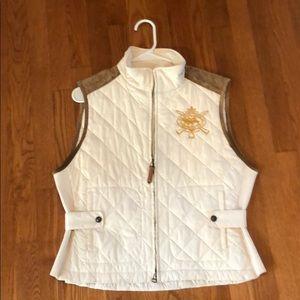 Ralph Lauren Sport Cream Vest